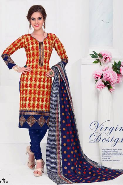 Balaji Cotton Hangama Vol 1 Salwar Suit Wholesale Catalog 16 Pcs