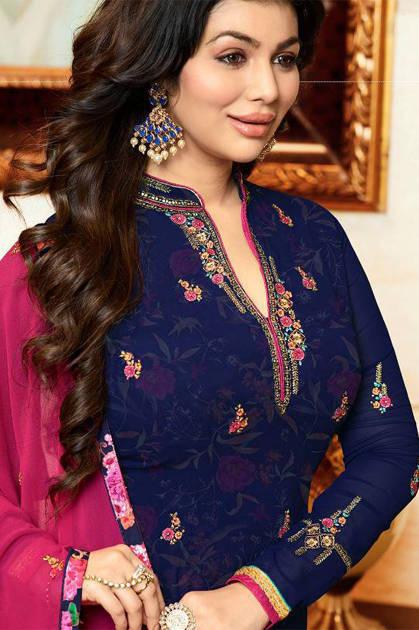 Fiona Ayesha Inner Print Salwar Suit Wholesale Catalog 7 Pcs