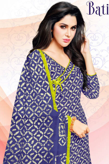 Kapil Trendz Batik Vol 5 Salwar Suit Wholesale Catalog 12 Pcs