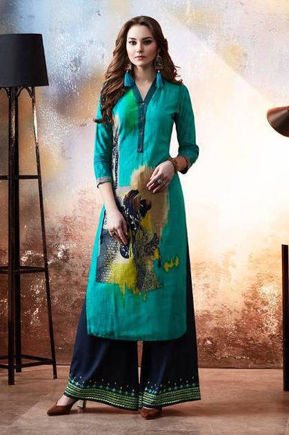Kessi Kajree Chambor Kurti with Plazzo Wholesale Catalog 12 Pcs