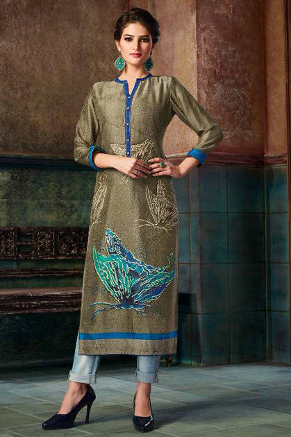 Kessi Kajree Choco Fills Kurti Wholesale Catalog 12 Pcs