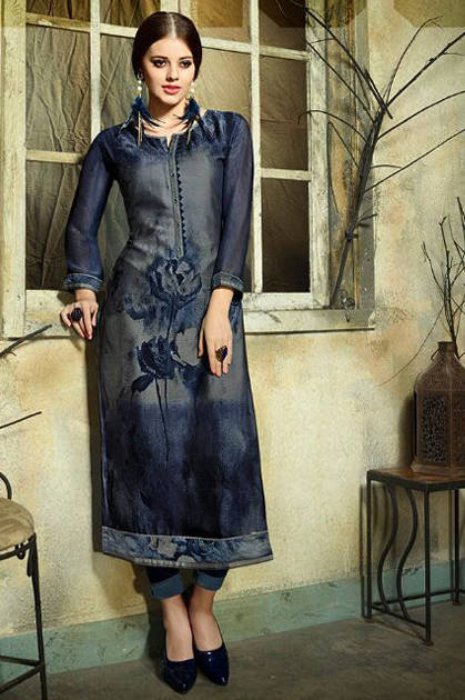 Kessi Kajree Dark Fantasy Vol 5 Kurti Wholesale Catalog 12 Pcs