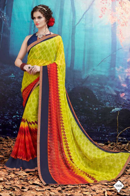 Kodas Ridhima Saree Sari Wholesale Catalog 12 Pcs