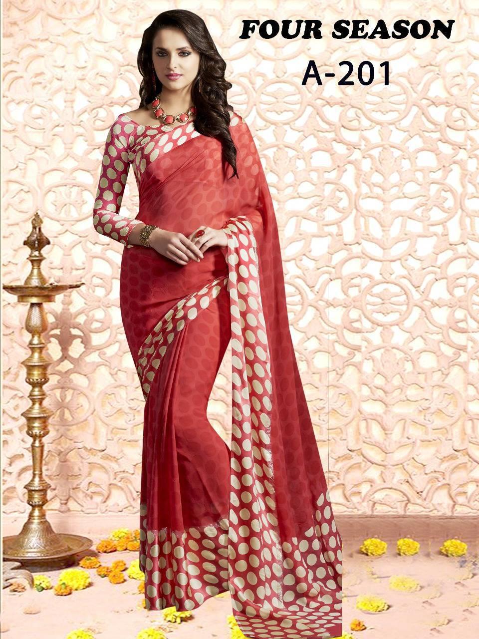 Lt Fabrics Four Season Series 2 Saree Sari Wholesale Catalog 4 pcs 2 - Lt Fabrics Four Season Series 2 Saree Sari Wholesale Catalog 4 pcs