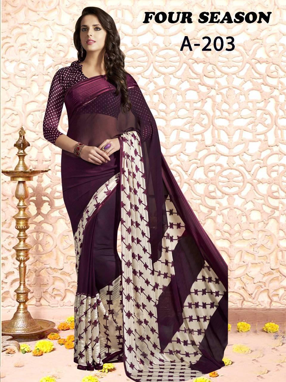 Lt Fabrics Four Season Series 2 Saree Sari Wholesale Catalog 4 pcs 3 - Lt Fabrics Four Season Series 2 Saree Sari Wholesale Catalog 4 pcs