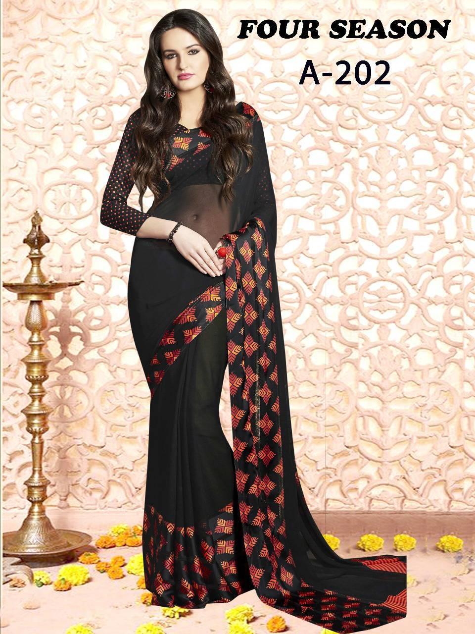 Lt Fabrics Four Season Series 2 Saree Sari Wholesale Catalog 4 pcs 4 - Lt Fabrics Four Season Series 2 Saree Sari Wholesale Catalog 4 pcs