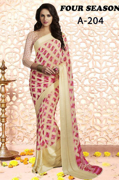 Lt Fabrics Four Season Series 2 Saree Sari Wholesale Catalog 4 pcs