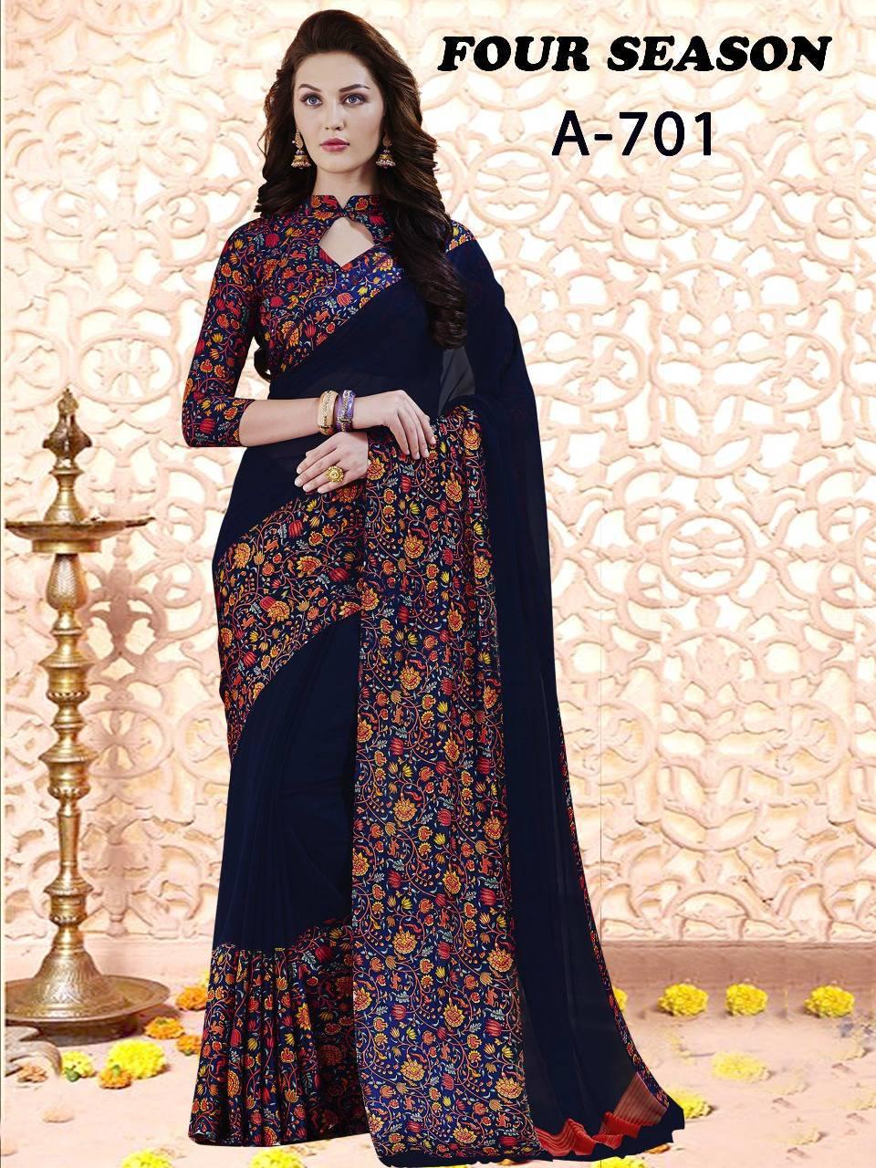 Lt Fabrics Four Season Series 7 Saree Sari Wholesale Catalog 4 pcs 1 - Lt Fabrics Four Season Series 7 Saree Sari Wholesale Catalog 4 pcs