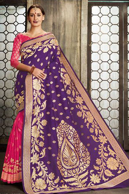 769fb013ba Lt Fabrics Moksha Saree Sari Wholesale Catalog 9 Pcs - Suratfabric.com