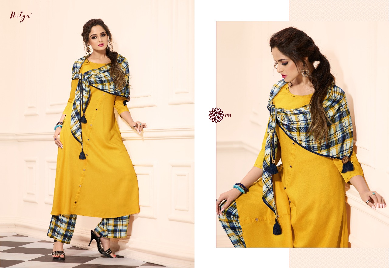 9a29d7ef4d Lt Fabrics Nitya Vol 27 Nx Full Stitched Salwar Suit Wholesale Catalog 9 Pcs  (8)