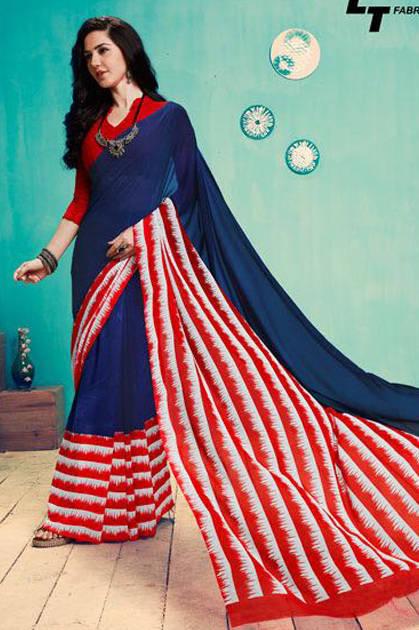 Lt Fabrics Zara Vol 22 Saree Sari Wholesale Catalog 18 Pcs