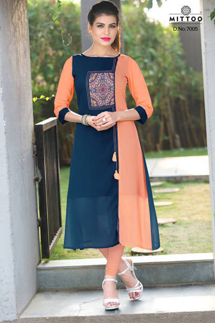Mittoo Pankti Kurti Wholesale Catalog 8 Pcs