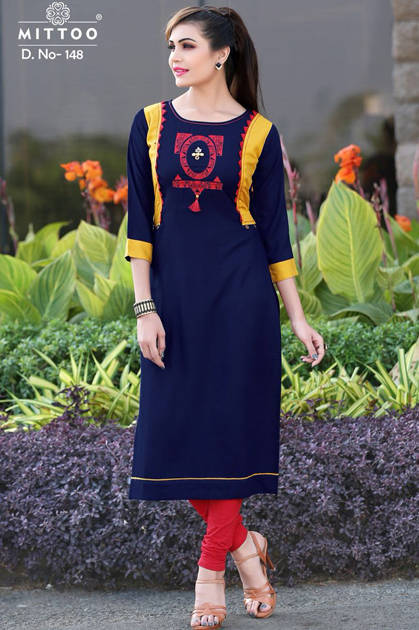 Mittoo Payal Vol 3 Kurti Wholesale Catalog 8 Pcs