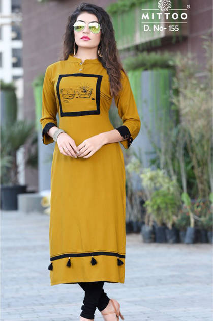 Mittoo Payal Vol 4 Kurti Wholesale Catalog 8 Pcs