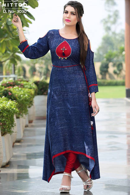 Mittoo Preet Vol 4 Kurti Wholesale Catalog 7 Pcs