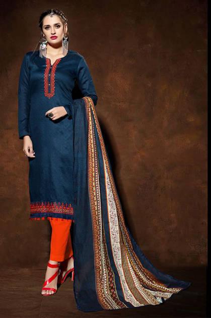 Mumtaz Arts Kapas Vol 4 Pakistani Salwar Suit Wholesale Catalog 9 Pcs