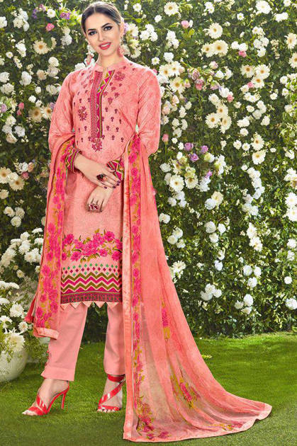 Mumtaz Arts The Original Lawn Vol 2 Karachi Salwar Suit Wholesale Catalog 10 Pcs