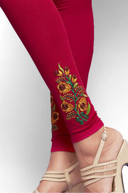 Psyna Embroidery Leggings Vol 6 Wholesale Catalog 10 pcs