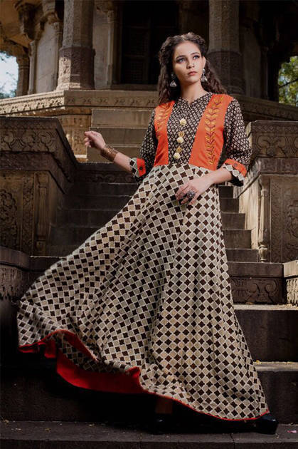 Psyna Pehnava Vol 5 Kurti Wholesale Catalog 8 Pcs