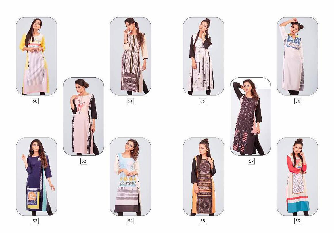 Psyna Princess Vol 5 Kurti Wholesale Catalog 10 Pcs 2 - Psyna Princess Vol 5 Kurti Wholesale Catalog 10 Pcs