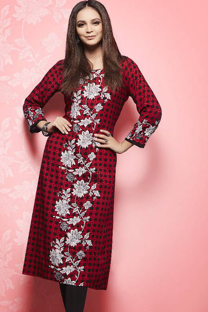 Psyna Rapid Kurti Wholesale Catalog 10 Pcs
