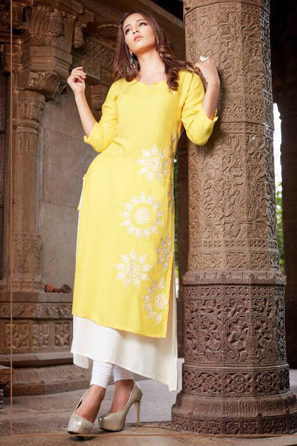 Psyna Retro Vol 1 Kurti Wholesale Catalog 10 Pcs