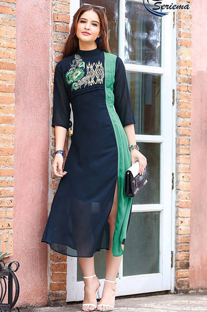 Seriema Kumb Express Kurti Wholesale Catalog 10 Pcs