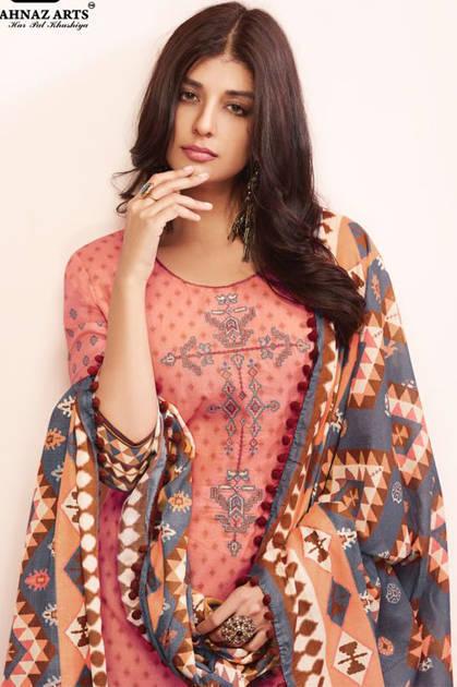 Shahnaz Arts Floraison Salwar Suit Wholesale Catalog 9 Pcs