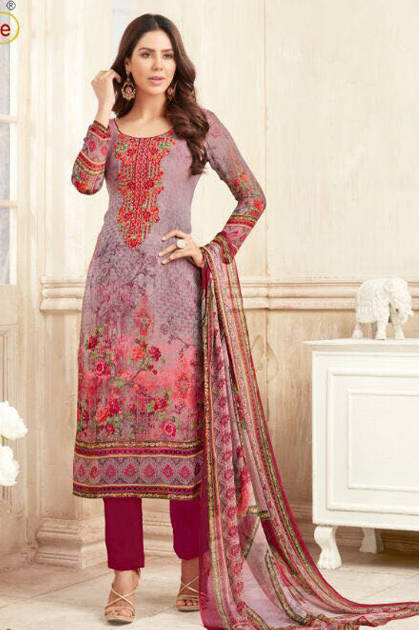 Tunic Simona Salwar Suit Wholesale Catalog 8 Pcs