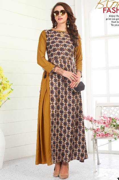 Vee Fab Shafanaz Kurti Wholesale Catalog 6 Pcs