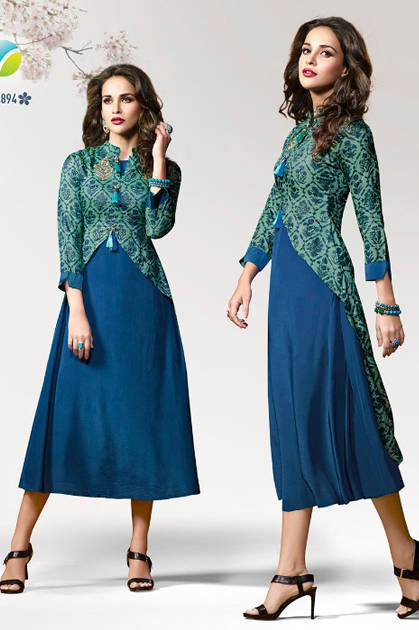 Vinay Fashion Tumbaa Twinkle Kurti Wholesale Catalog 10 Pcs