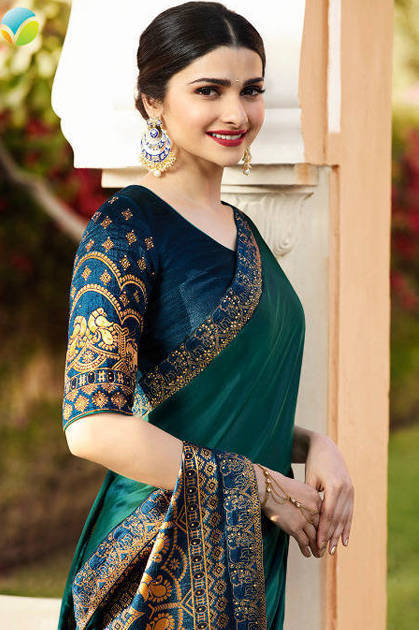Vinay Sheesha Heritage Prachi Desai Saree Sari Wholesale Catalog 9 Pcs