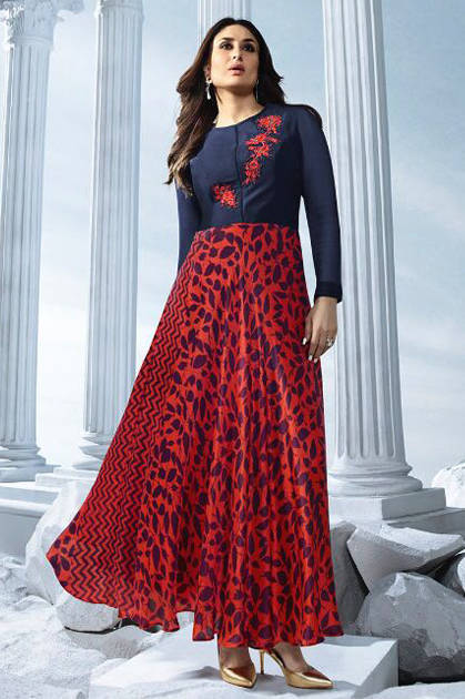 Vinay Tumbaa Bebo Vol 2 Kareena Kapoor Fashion Kurti Wholesale Catalog 10 Pcs