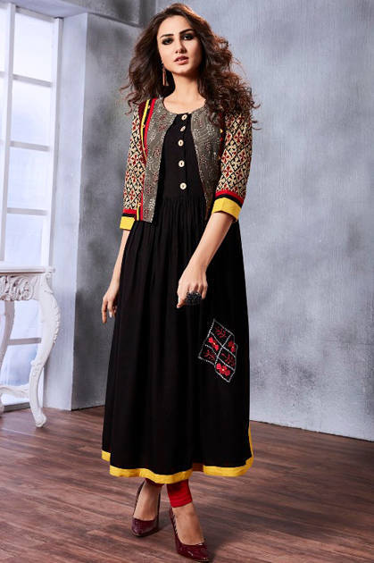 Kessi Rangoon Artist Kurti Wholesale Catalog 9 Pcs