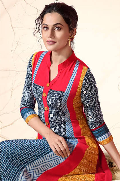Kessi Rangoon Sherlyn By Taapsee Pannu Kurti Wholesale Catalog 8 Pcs