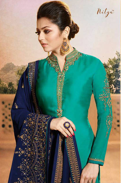 LT Nitya Vol 119 Salwar Suit Wholesale Catalog 9 pcs
