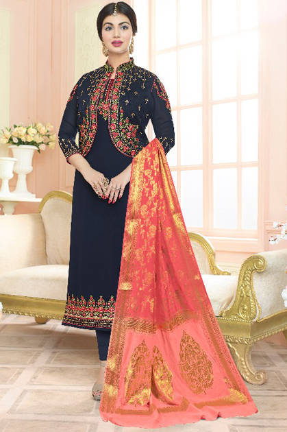 Shree Fabs Dollor Bananrshi Duppta Salwar Suit Wholesale Catalog 4 Pcs