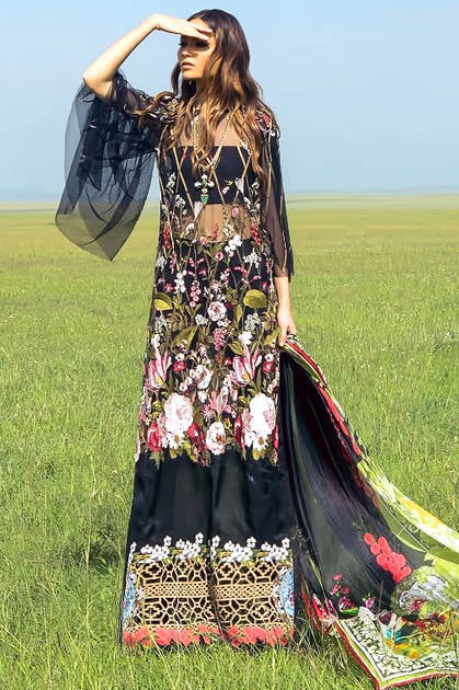 Shree Fabs Sana Safinaz Luxury Collection Vol 3 Salwar Suit Wholesale Catalog 7 Pcs