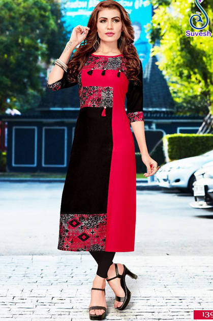 Suvesh Natasha Vol 9 Kurti Wholesale Catalog 8 Pcs