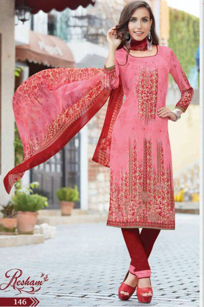 Anmol Resham Vol 3 Salwar Suit Wholesale Catalog 12 Pcs