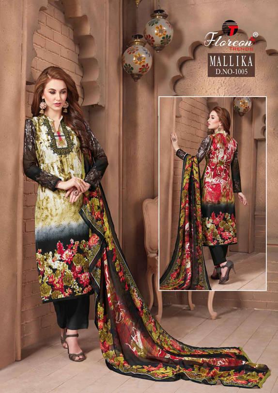 Floreon Trends Mallika Salwar Suit Wholesale Catalog 7 Pcs 10 - Floreon Trends Mallika Salwar Suit Wholesale Catalog 7 Pcs