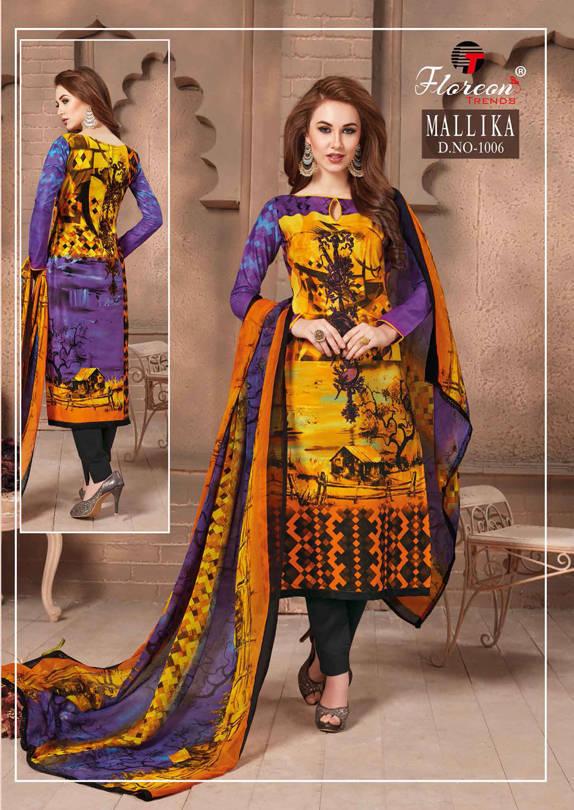 Floreon Trends Mallika Salwar Suit Wholesale Catalog 7 Pcs 13 - Floreon Trends Mallika Salwar Suit Wholesale Catalog 7 Pcs