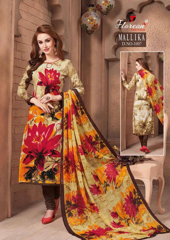 Floreon Trends Mallika Salwar Suit Wholesale Catalog 7 Pcs 14 - Floreon Trends Mallika Salwar Suit Wholesale Catalog 7 Pcs