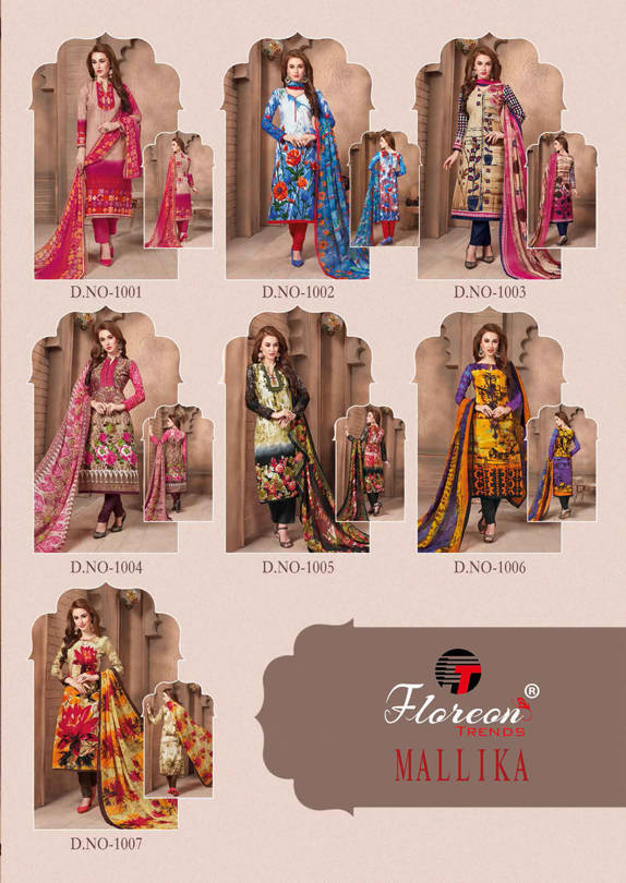 Floreon Trends Mallika Salwar Suit Wholesale Catalog 7 Pcs 15 - Floreon Trends Mallika Salwar Suit Wholesale Catalog 7 Pcs