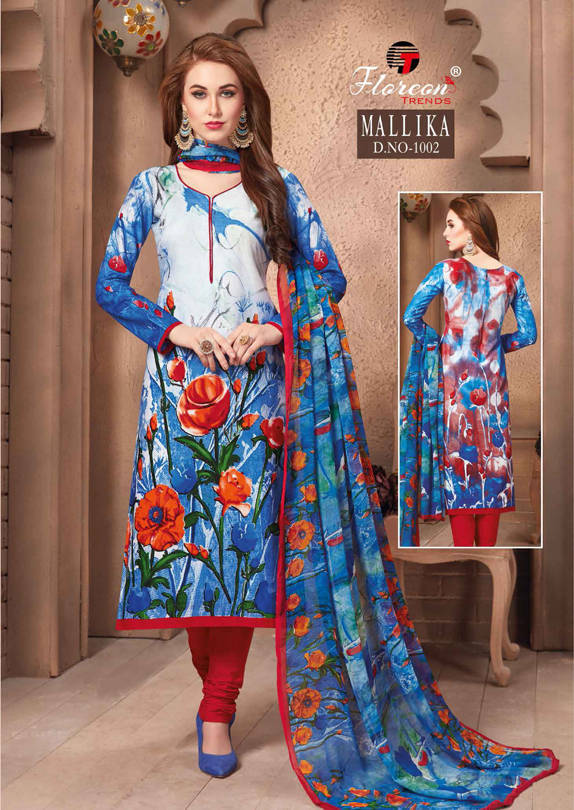Floreon Trends Mallika Salwar Suit Wholesale Catalog 7 Pcs 4 - Floreon Trends Mallika Salwar Suit Wholesale Catalog 7 Pcs