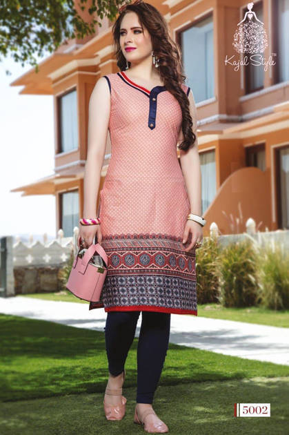 Kajal Style Baby Doll Vol 5 Kurti Wholesale Catalog 20 Pcs