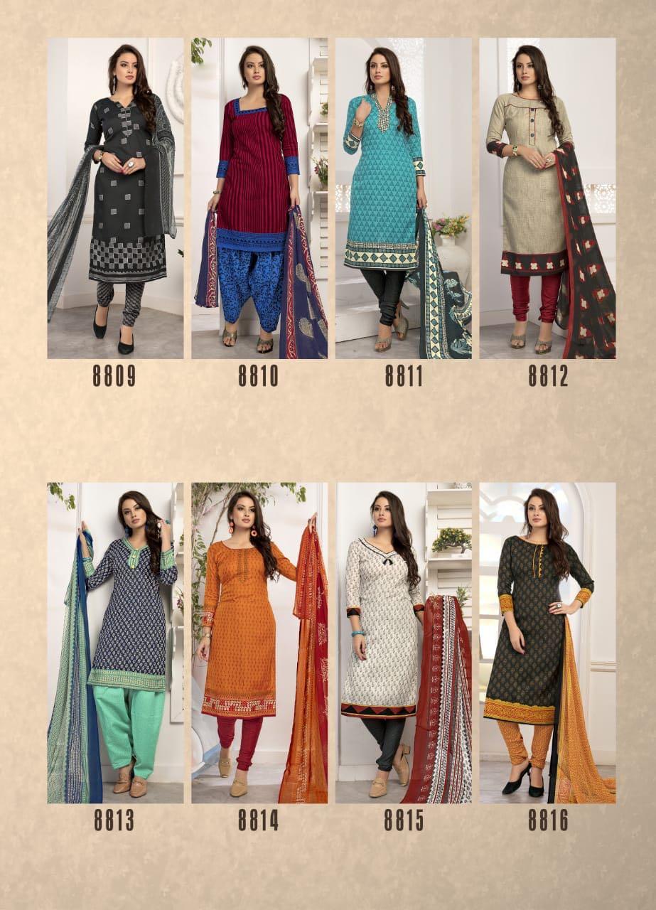 Kavyanjali Rise Vol 30 Salwar Suit Wholesale Catalog 16 Pcs 21 - Kavyanjali Rise Vol 30 Salwar Suit Wholesale Catalog 16 Pcs