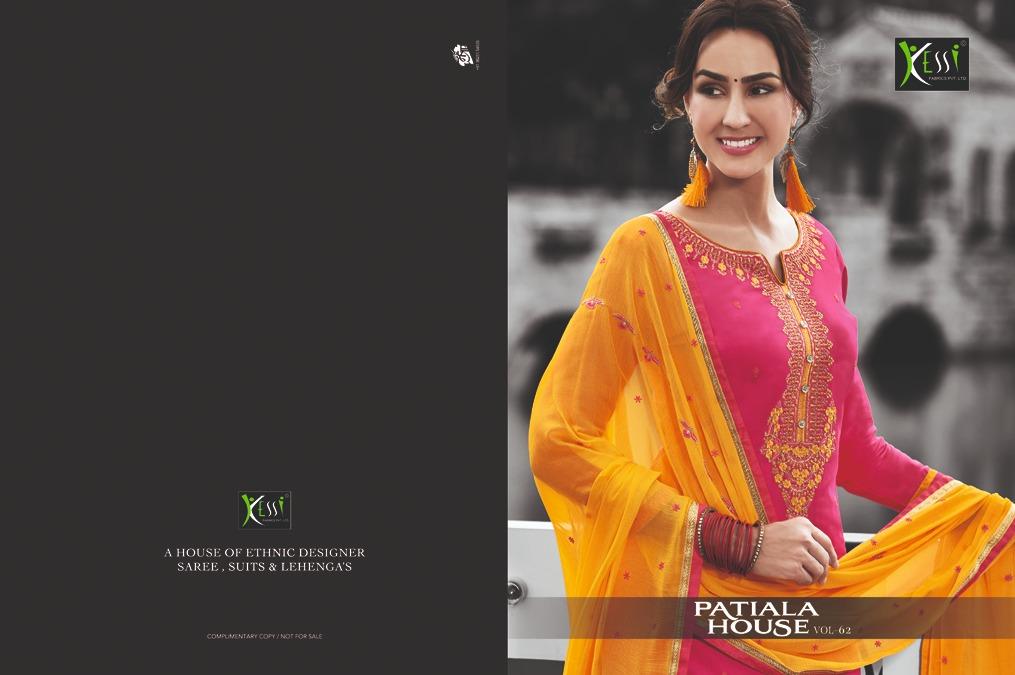 Kessi Patiyala House Vol 62 Salwar Suit Wholesale Catalog 12 Pcs 18 - Kessi Patiyala House Vol 62 Salwar Suit Wholesale Catalog 12 Pcs