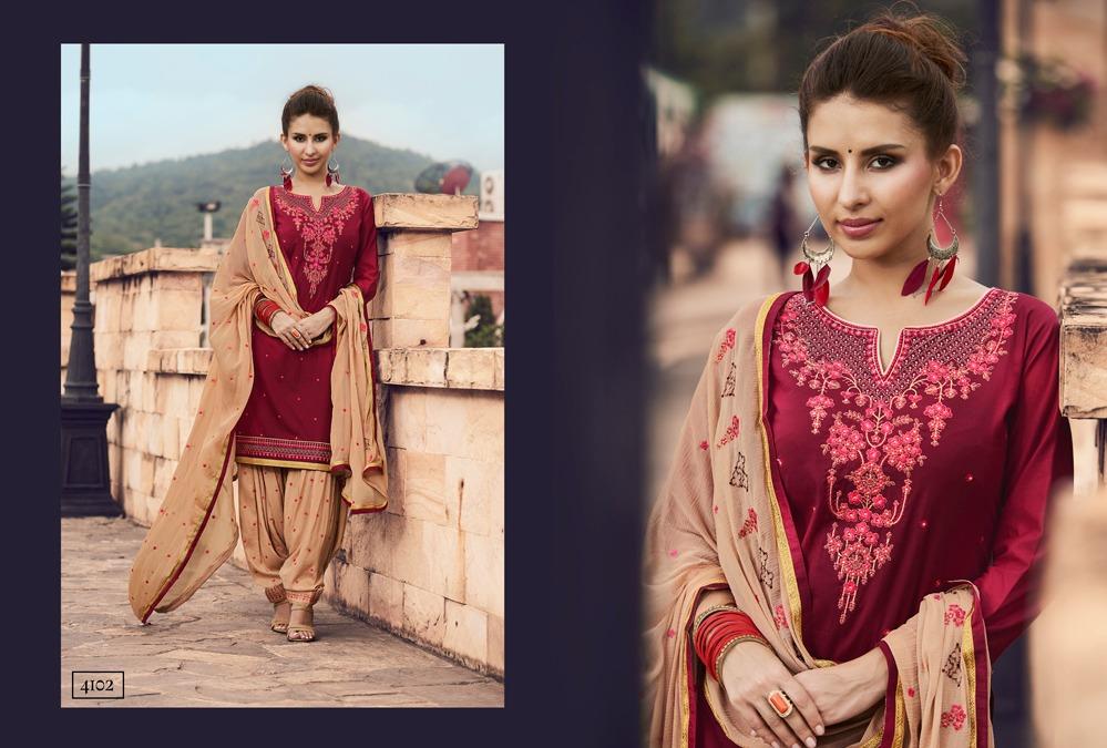 Kessi Patiyala House Vol 62 Salwar Suit Wholesale Catalog 12 Pcs 8 - Kessi Patiyala House Vol 62 Salwar Suit Wholesale Catalog 12 Pcs