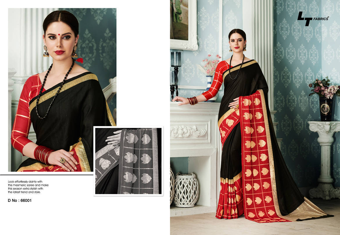 Lt Fabrics Alankrit Saree Sari Wholesale Catalog 10 Pcs 1 - Lt Fabrics Alankrit Saree Sari Wholesale Catalog 10 Pcs